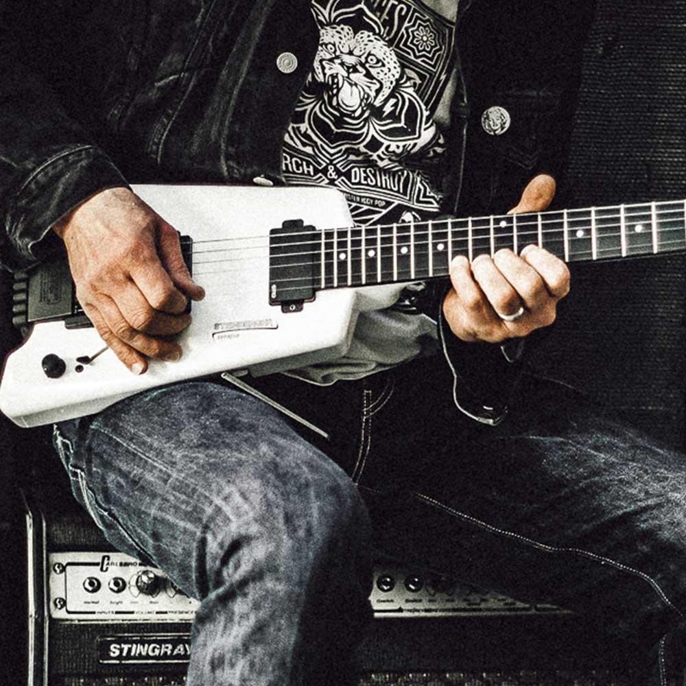 ich spiele gerne gitarre